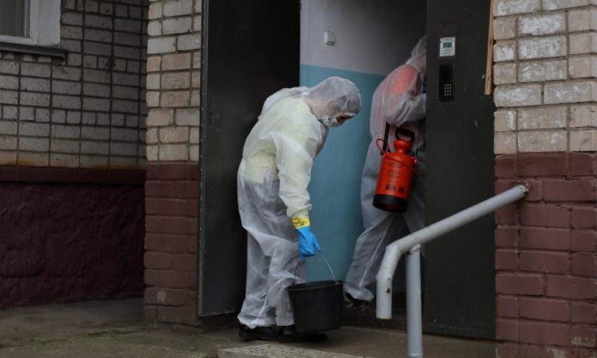 Должны ли УК Кирово-Чепецка обрабатывать подъезды во время пандемии?
