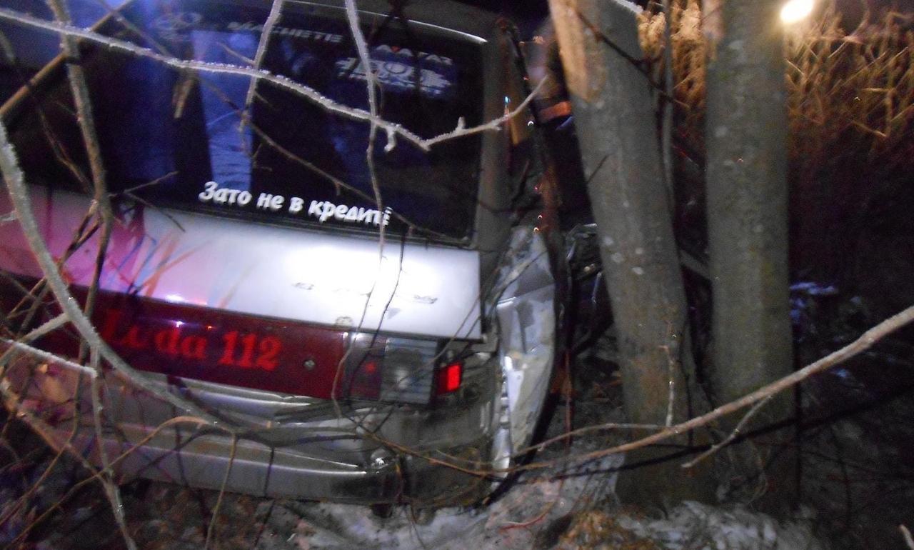 В Кирово-Чепецком районе ВАЗ въехал в дерево: есть пострадавшие