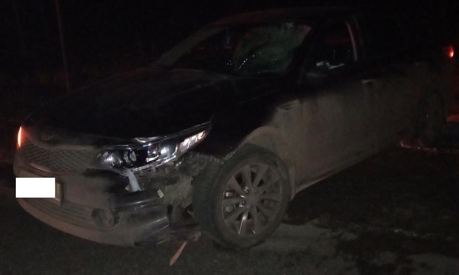 В Кирово-Чепецком районе водитель Kia насмерть сбил пешехода