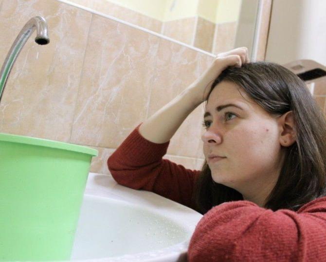 Десятки чепчан остались без холодной воды из-за коммунальной аварии