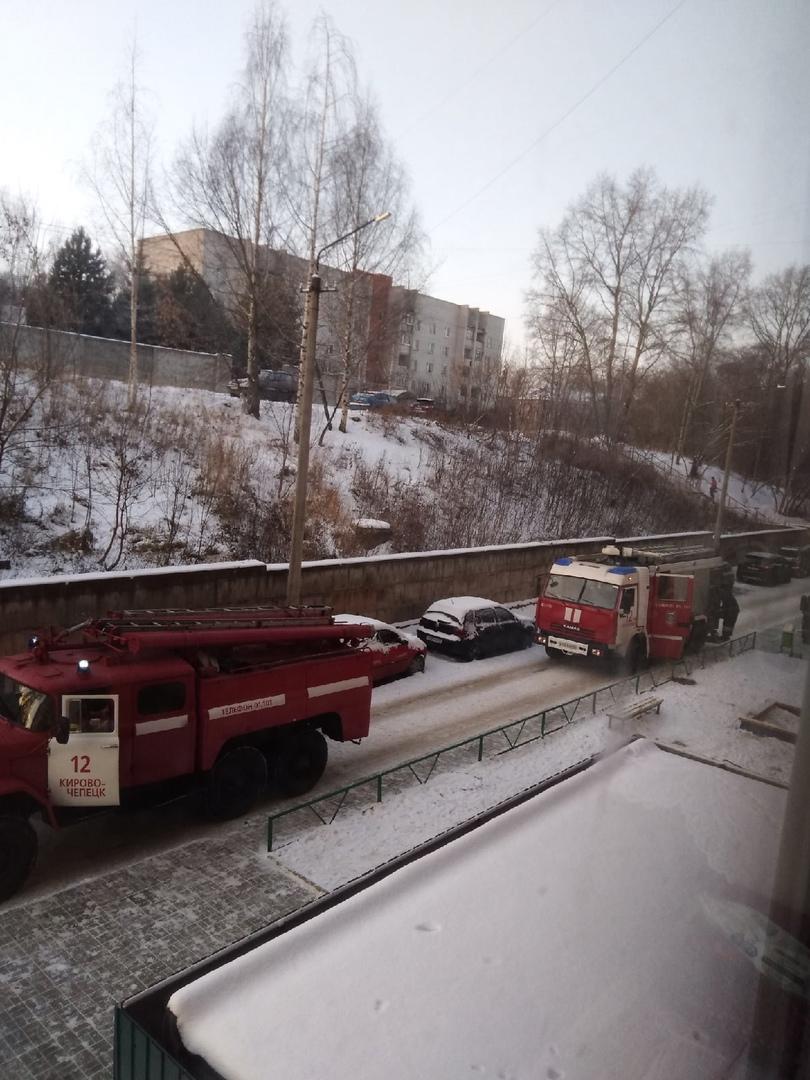 За день в Кирово-Чепецке и районе произошло четыре пожара