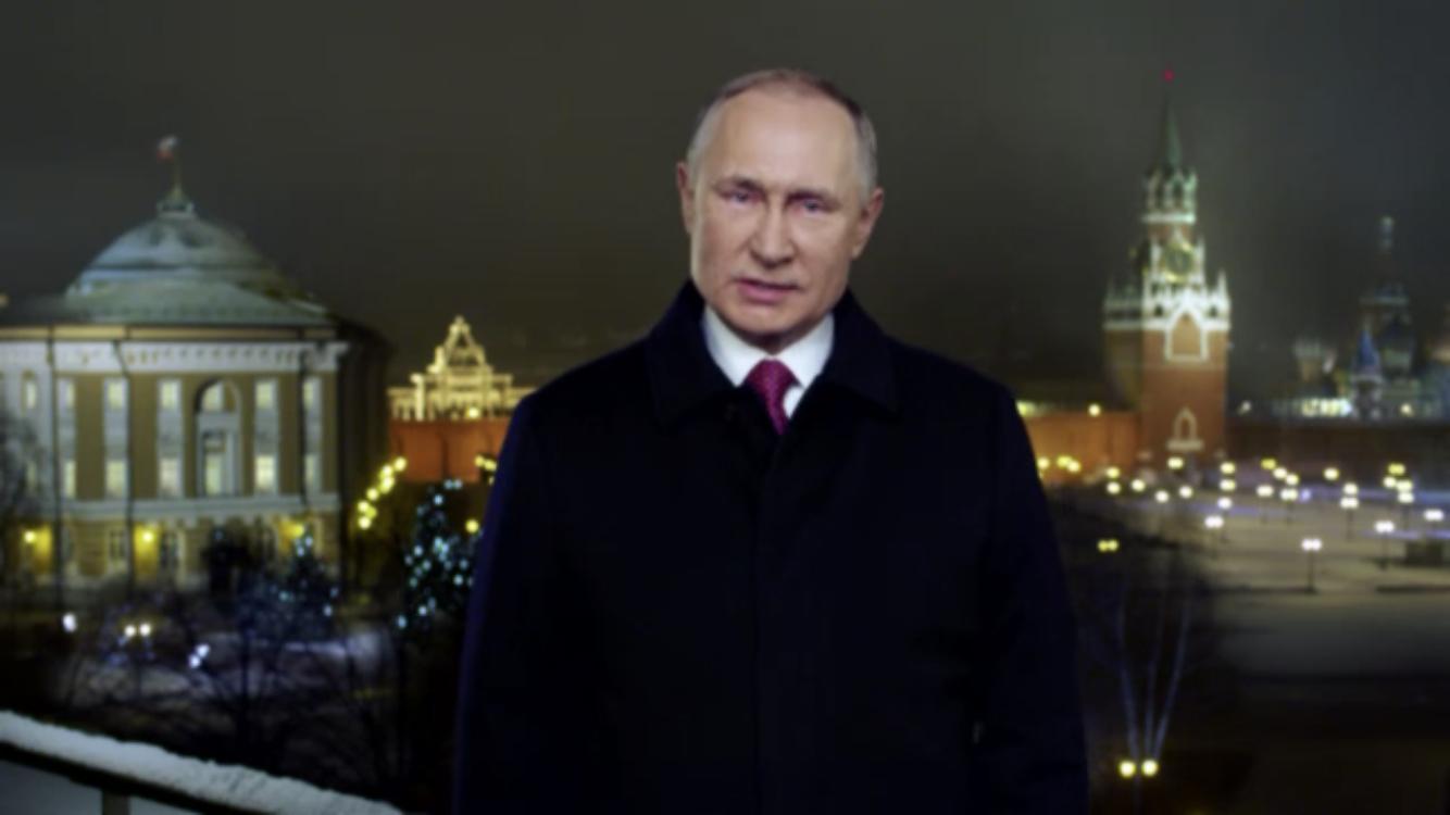 Новогодняя речь Владимира Путина: прямая трансляция