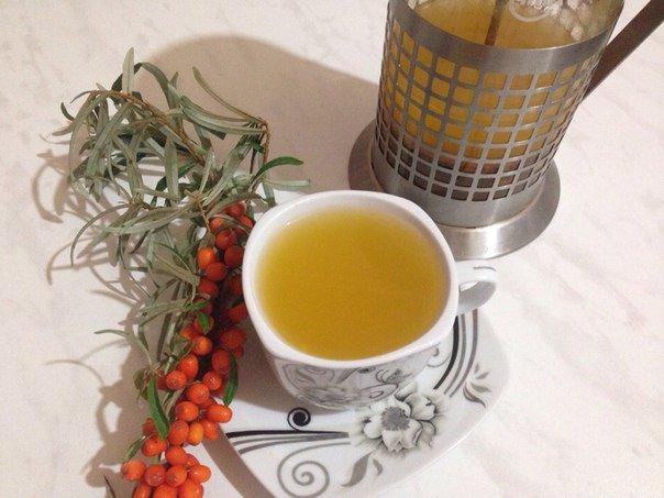 Рецепт выходного дня: облепиховый чай