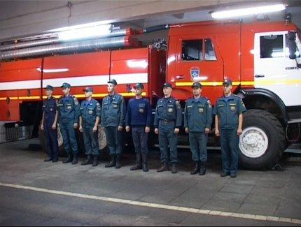 Кирово-чепецкую пожарную часть признали лучшей в области