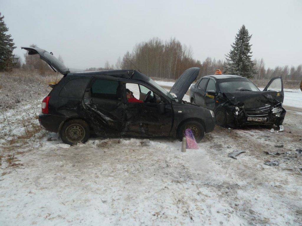 В Кировской области произошла авария: пострадали пять человек