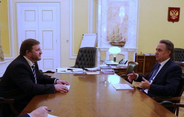 Губернатор предложил министру спорта РФ приехать в Кирово-Чепецкий район