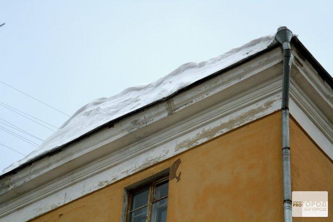 Управляющая компания готова помочь чепчанке, пострадавшей от схода снега с крыши
