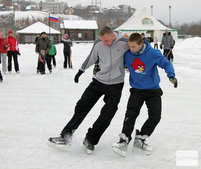 Сколько стоит в Кирово-Чепецке покататься на коньках?