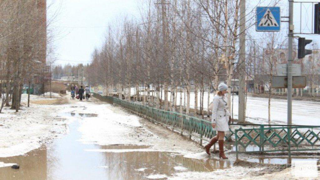 В Чепецк вновь возвращается теплая погода: на следующей неделе ожидаются дожди и +2 °C
