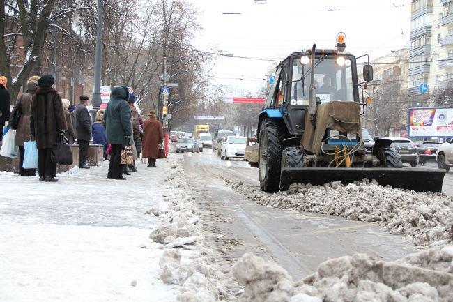 В Чепецке создадут карту чистки и содержания дорог