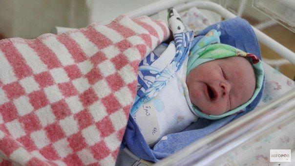 В ЦРБ в новогоднюю ночь родился малыш