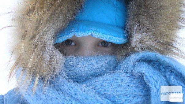 Прогноз погоды: первая рабочая неделя в Чепецке будет морозной
