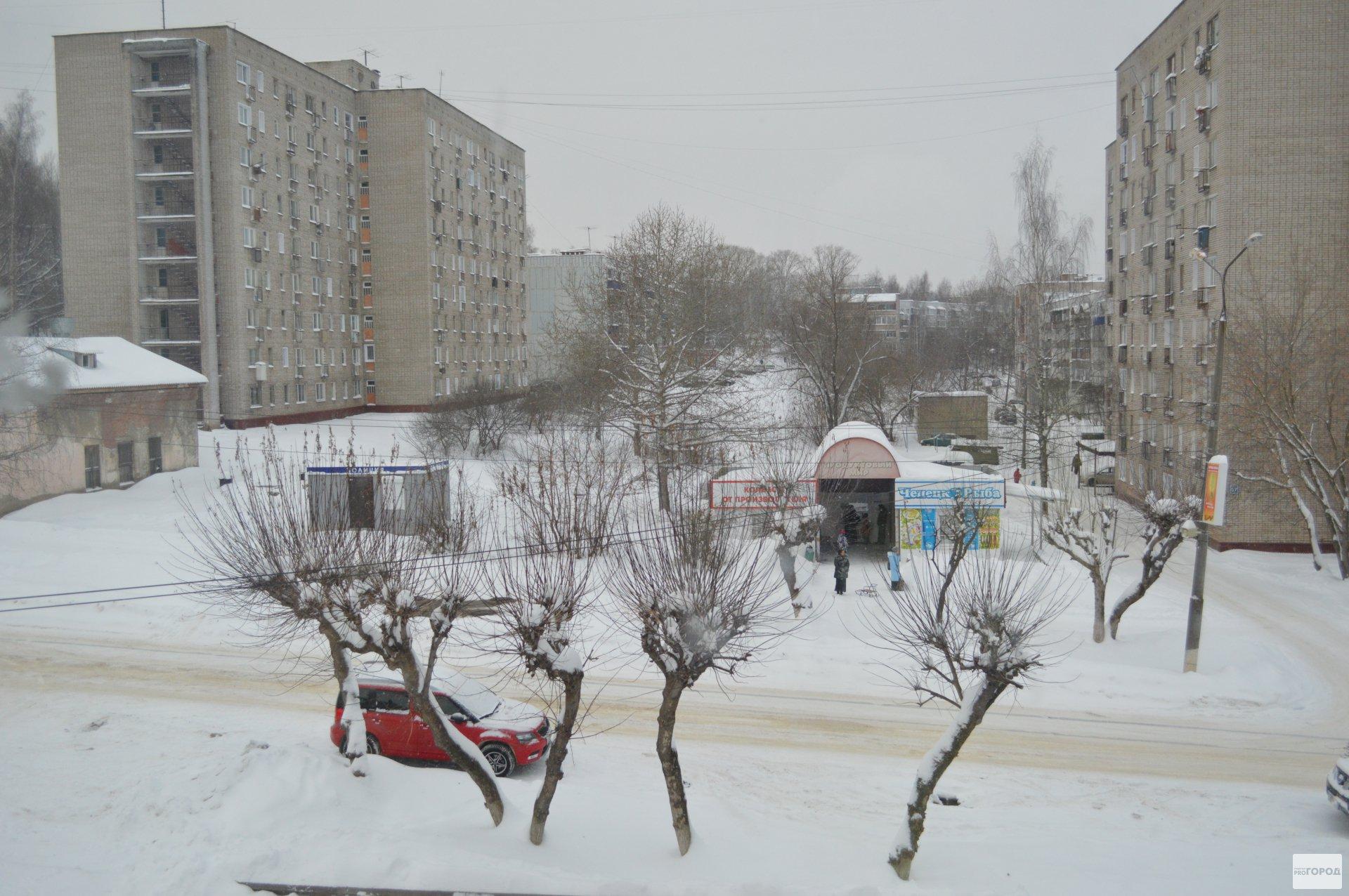 В Кирово-Чепецке при очистке дорог будут эвакуировать автомобили