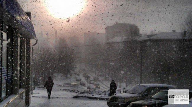 Метеопредупреждение от МЧС: чепчан ждут метель, сильный ветер и гололед