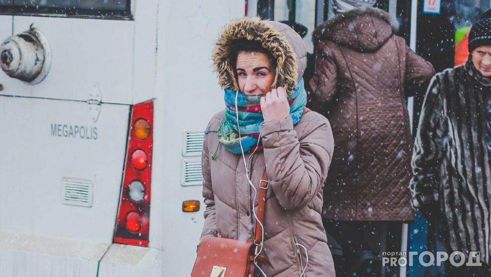 Прогноз погоды: рабочая неделя в Чепецке будет снежной