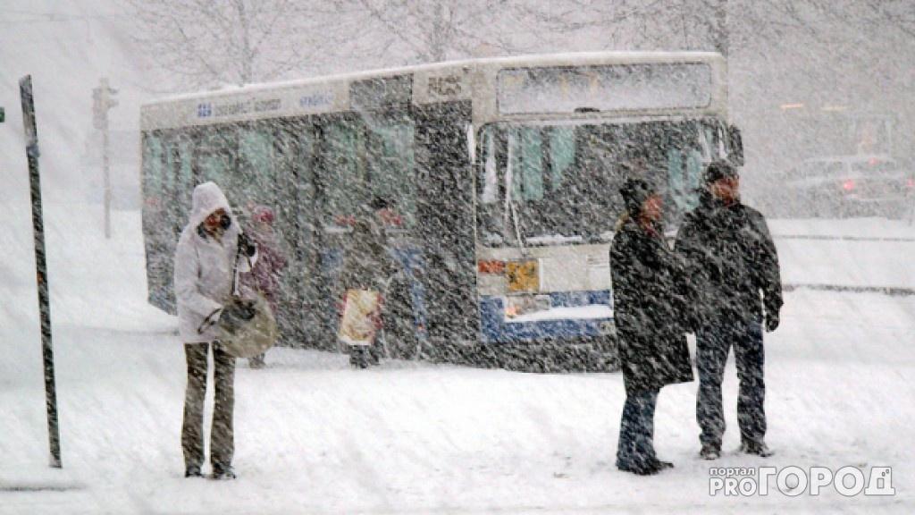 Метеопредупреждение в Чепецке: в среду ожидаются сильный снегопад, метель и ледяной дождь