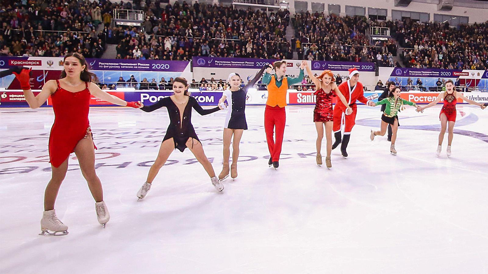 На чемпионат России по фигурному катанию будут допущены зрители