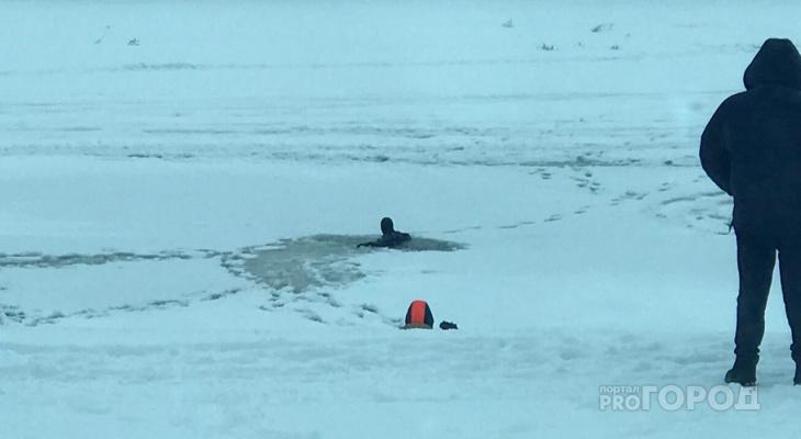 В Кирово-Чепецке первоклассник провалился под лед