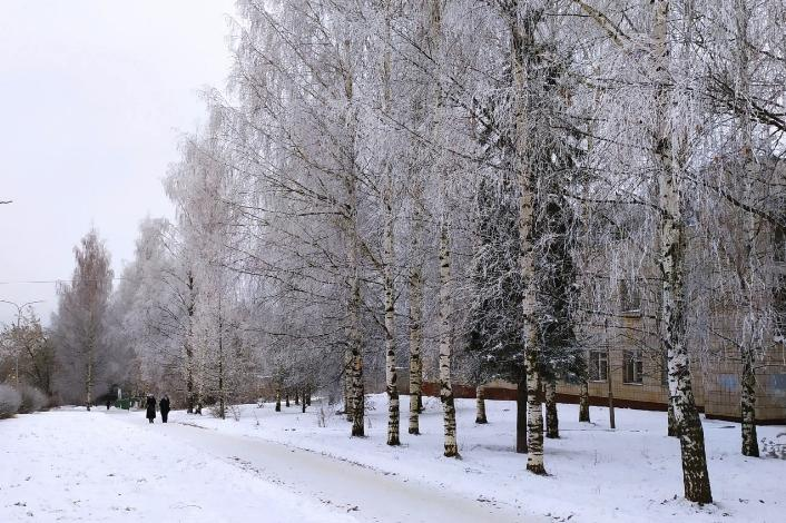 Небольшое похолодание и мало осадков: какая погода ждет чепчан 17 января?