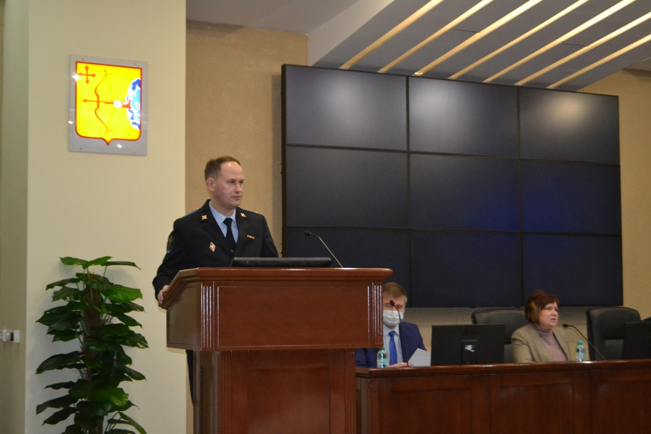 За прошедший год сократилось количество преступлений в Кирово-Чепецке