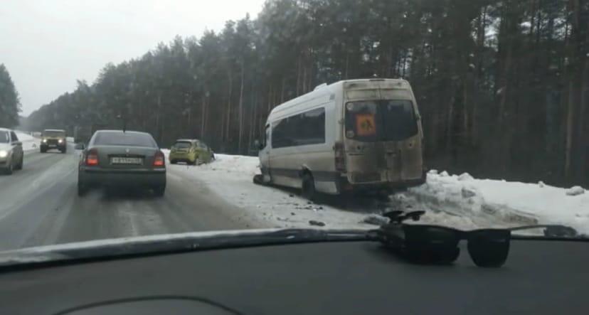 Под Кирово-Чепецком произошло массовое ДТП с тремя иномарками: есть пострадавшая
