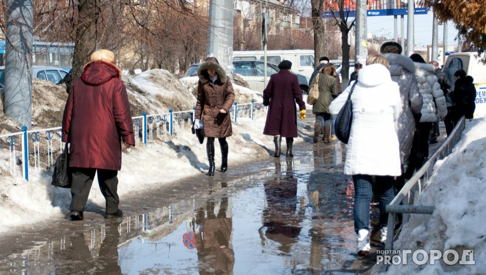 Известно, когда в Кировской области потеплеет до +1