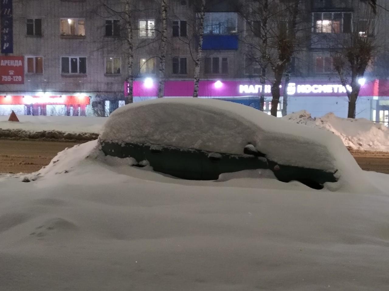 В Кировской области за 2 суток выпадет около месячной нормы снега
