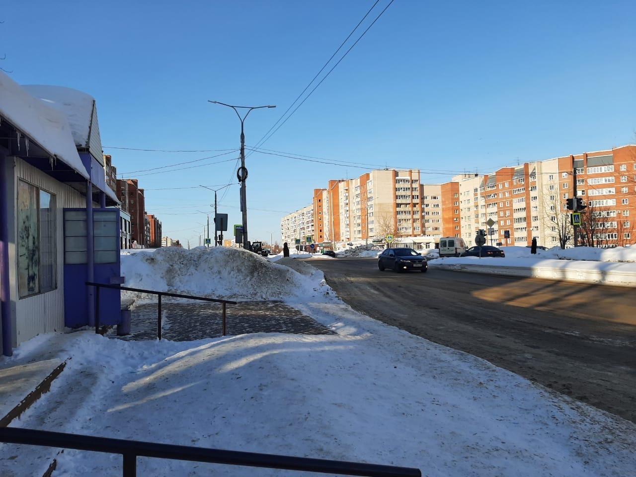 В Кирово-Чепецке отремонтируют дорогу на въезде в город