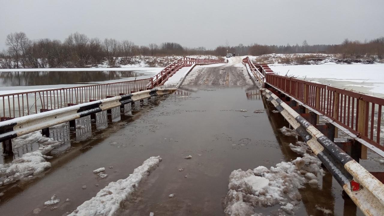 Начало строительства моста через реку Чепцу затягивается