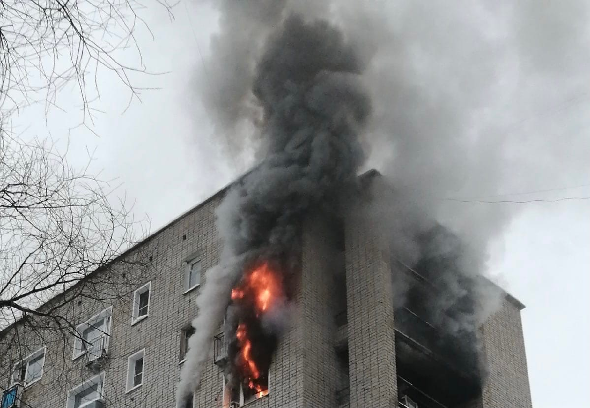 В Кирово-Чепецке нашли подозреваемого в поджоге малосемейки на Ленина
