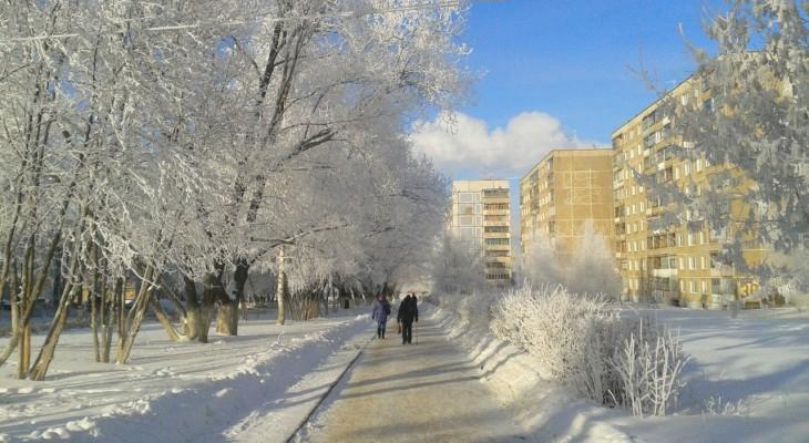 Рождественские морозы: какая погода ждет чепчан 7 января?