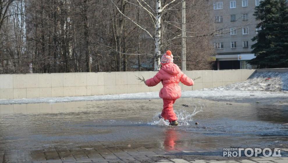 В Кирово-Чепецке и области синоптики прогнозируют резкое потепление