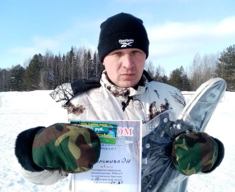 Кирово-чепецкий сотрудник МЧС стал победителем в соревнованиях по охотничьему биатлону