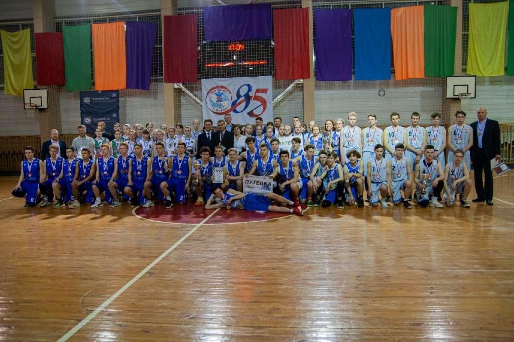 Баскетболисты из Чепецка одержали победу на областном чемпионате