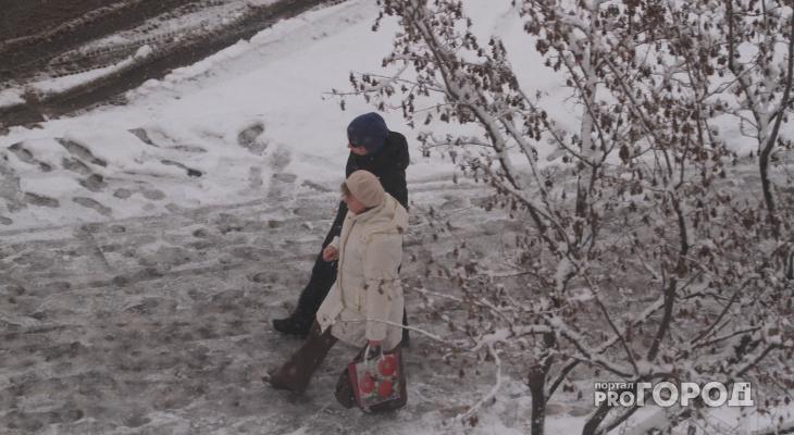 В Кирово-Чепецке в выходные ожидается снегопад