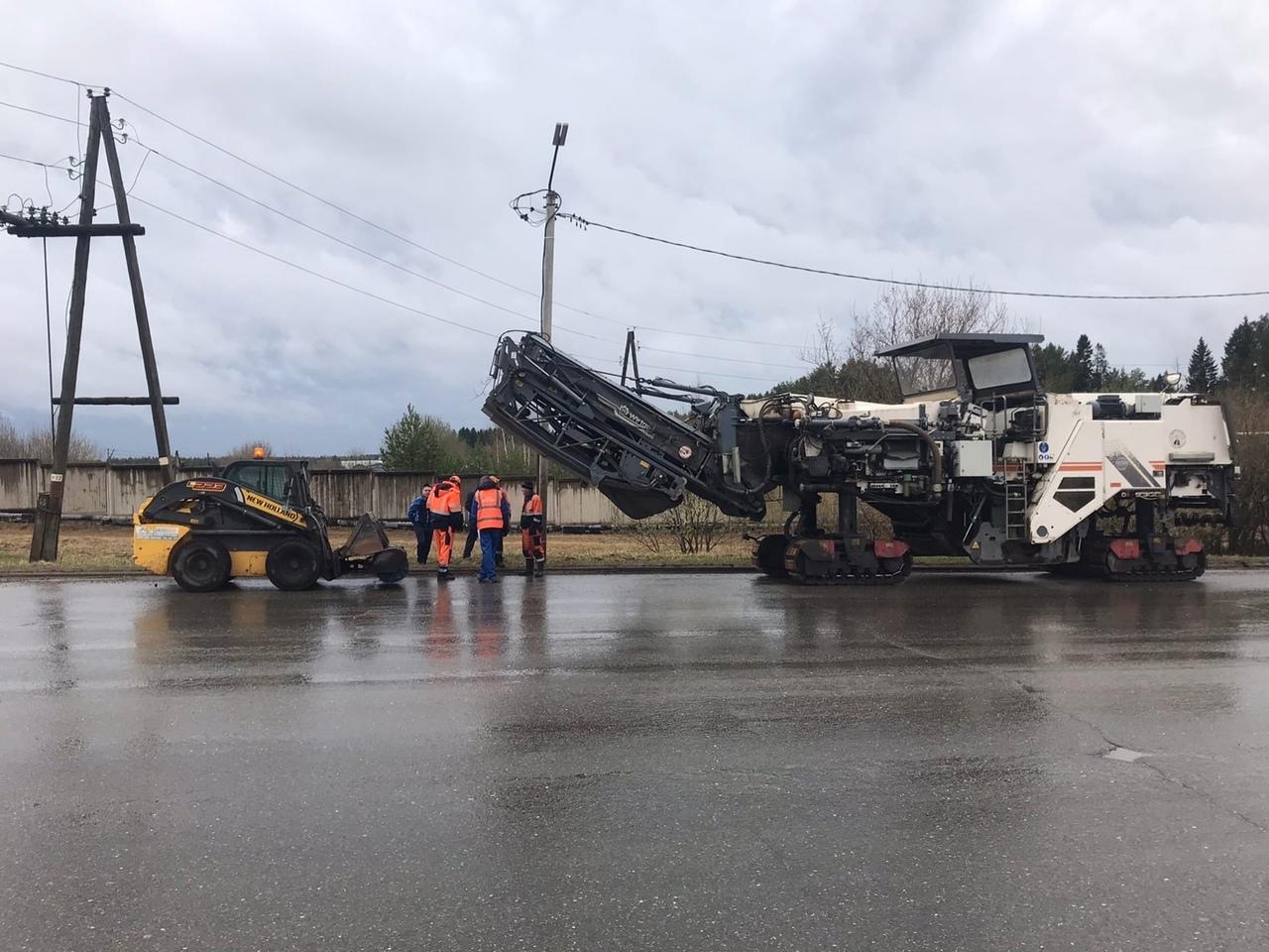 В Кирово-Чепецке начался ремонт дороги на улице 60 лет Октября стоимостью 54,7 млн рублей