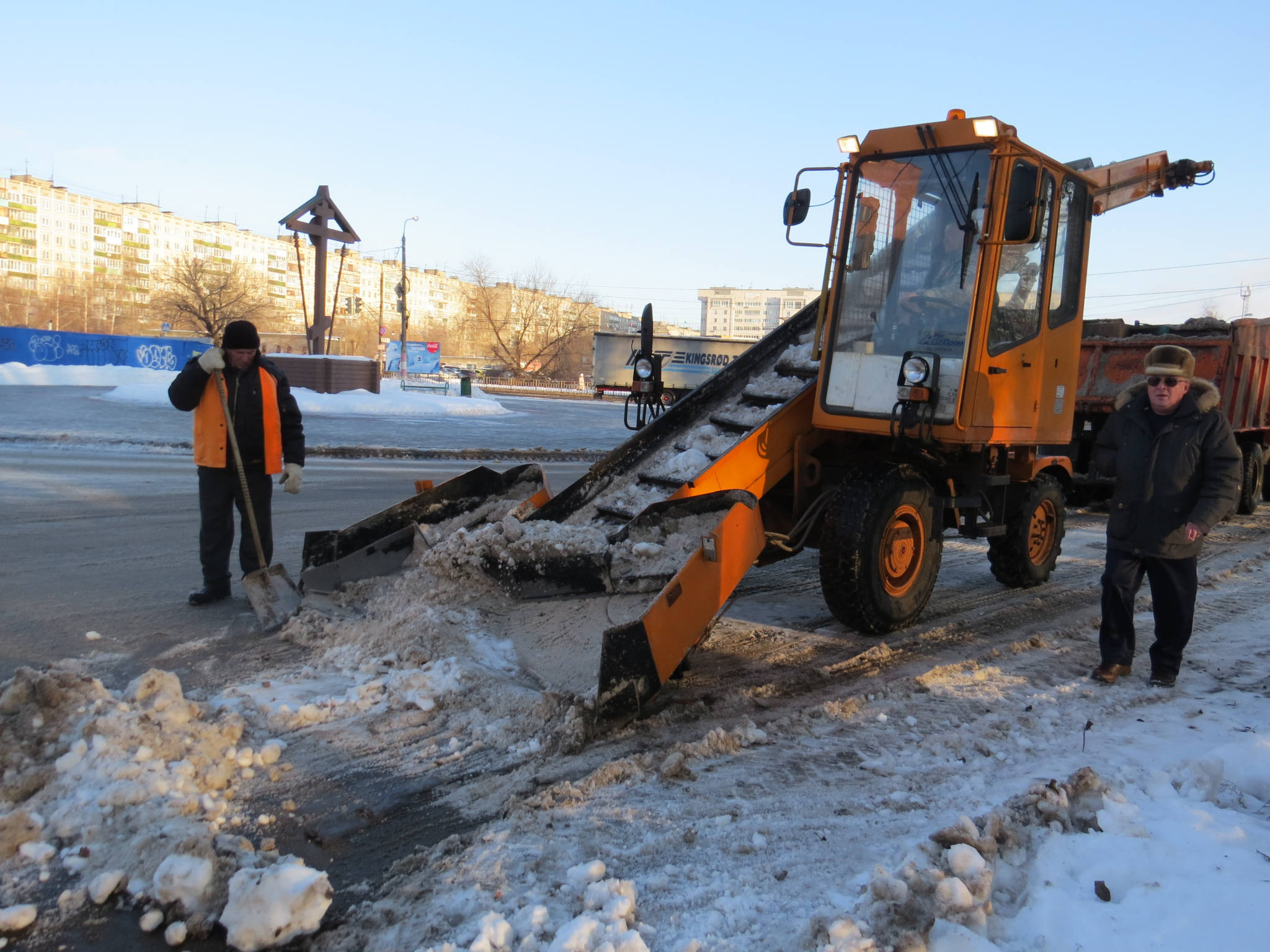 В Кирово-Чепецке опубликовали график уборки снега с улиц