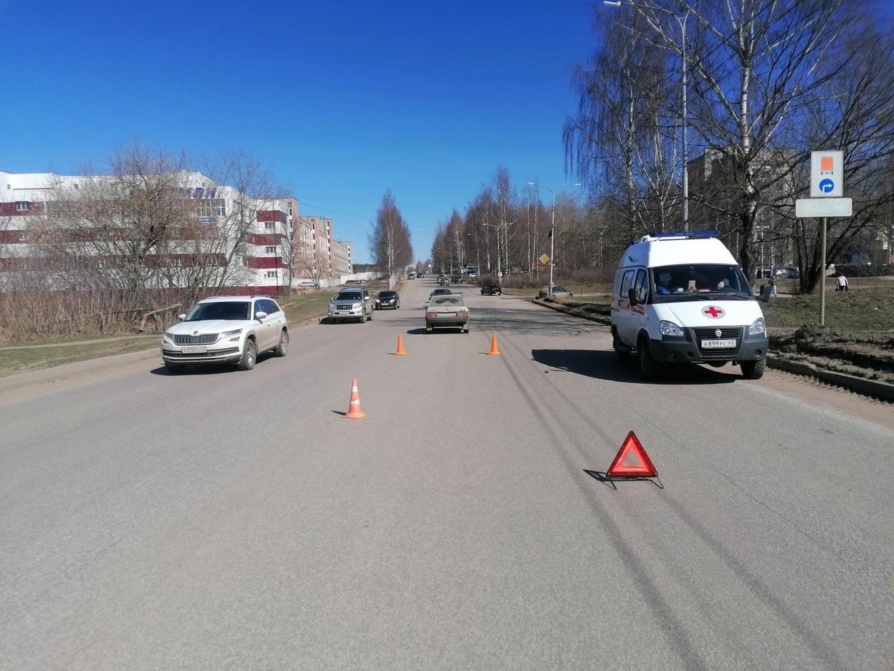 В ГИБДД рассказали о состоянии пешехода, сбитого на улице Ленина