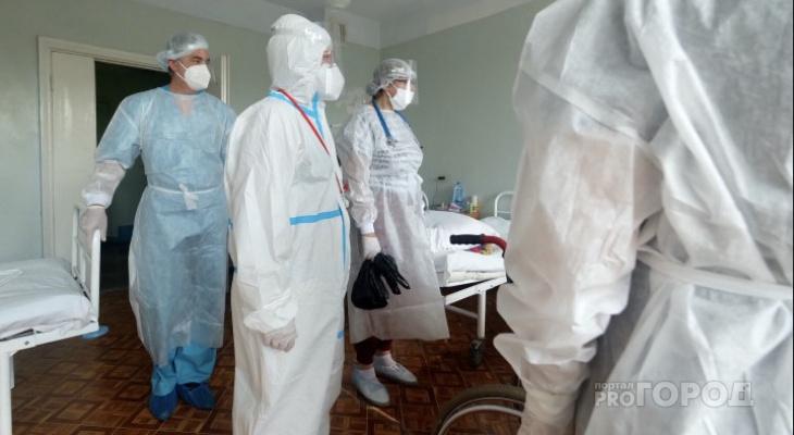 В Кировской области 106 больных коронавирусом находятся в тяжелом состоянии