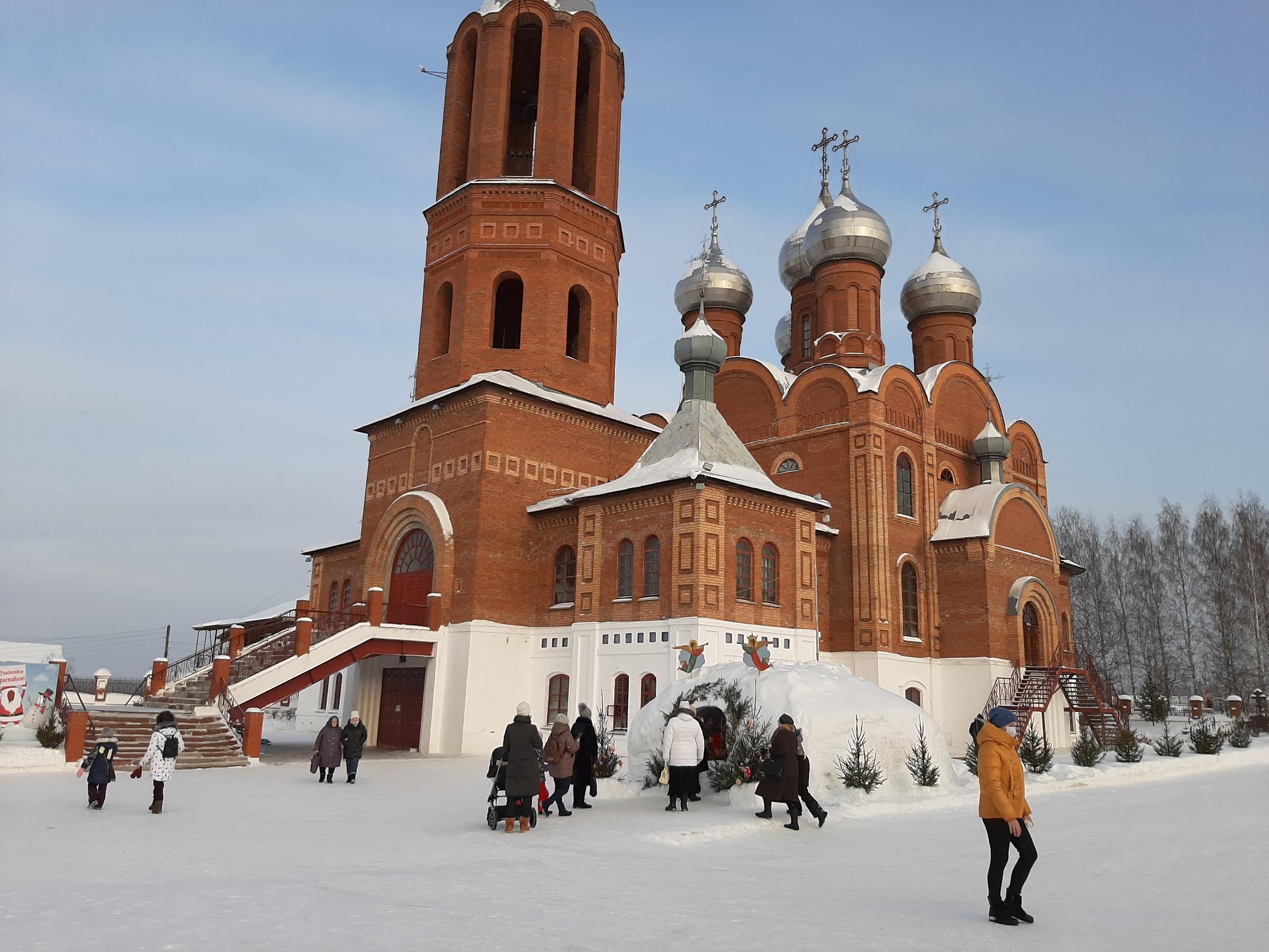 Как проходит Рождество в Кирово-Чепецке: фотоподборка