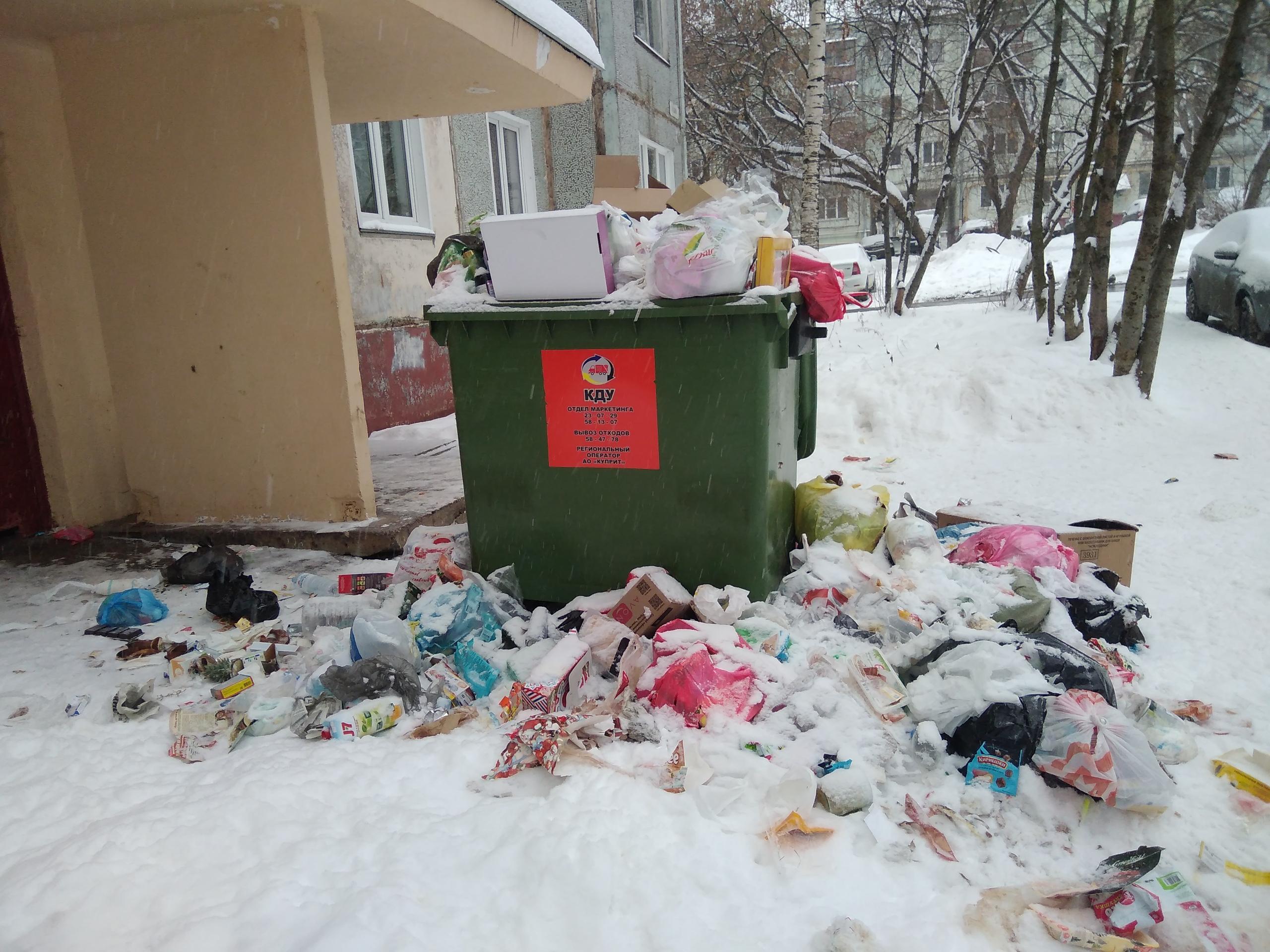 В администрации рассказали, как Чепецк будут очищать от снега и мусора на праздниках
