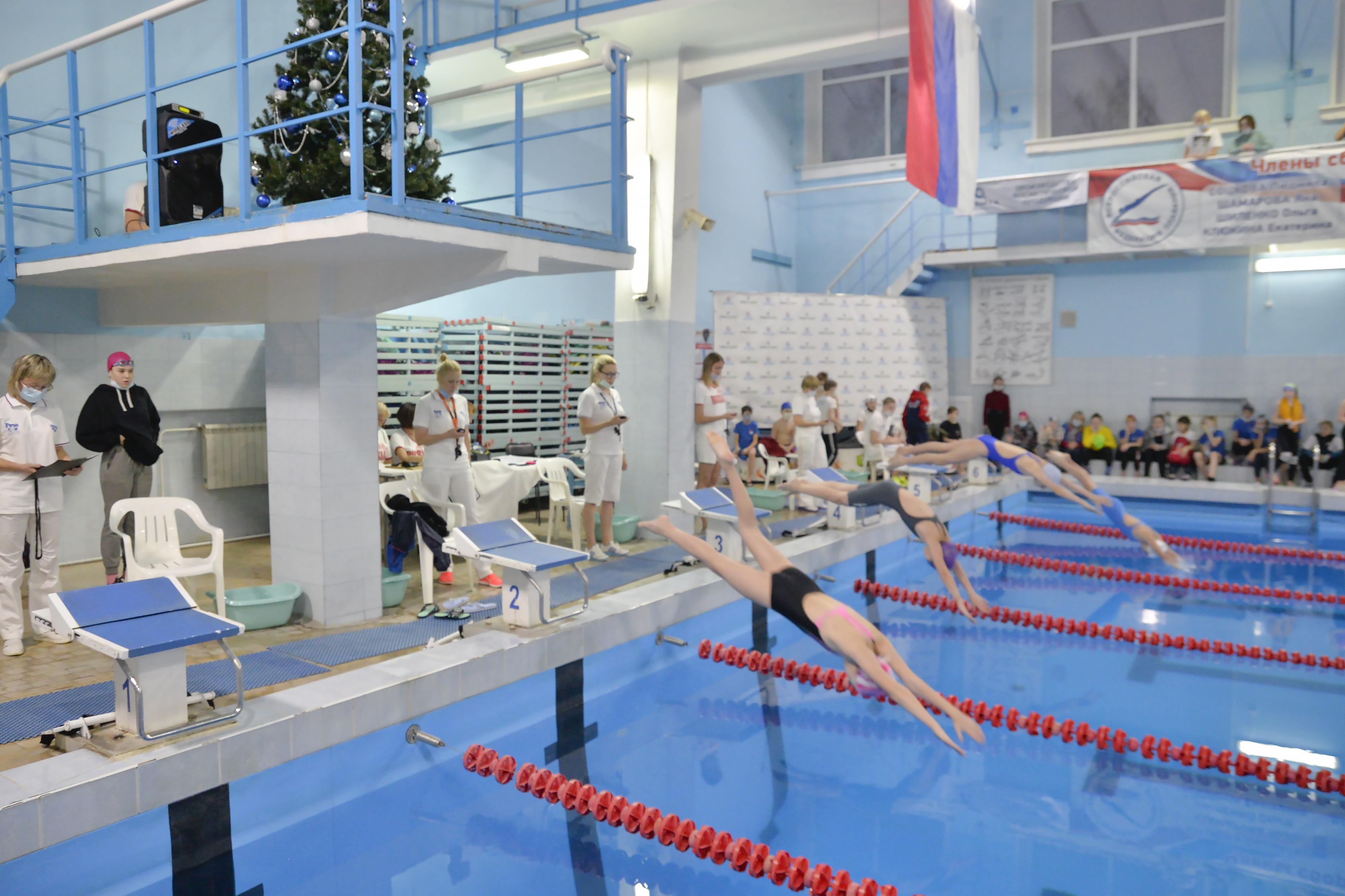 В Кирово-Чепецке прошли областные соревнования по плаванию