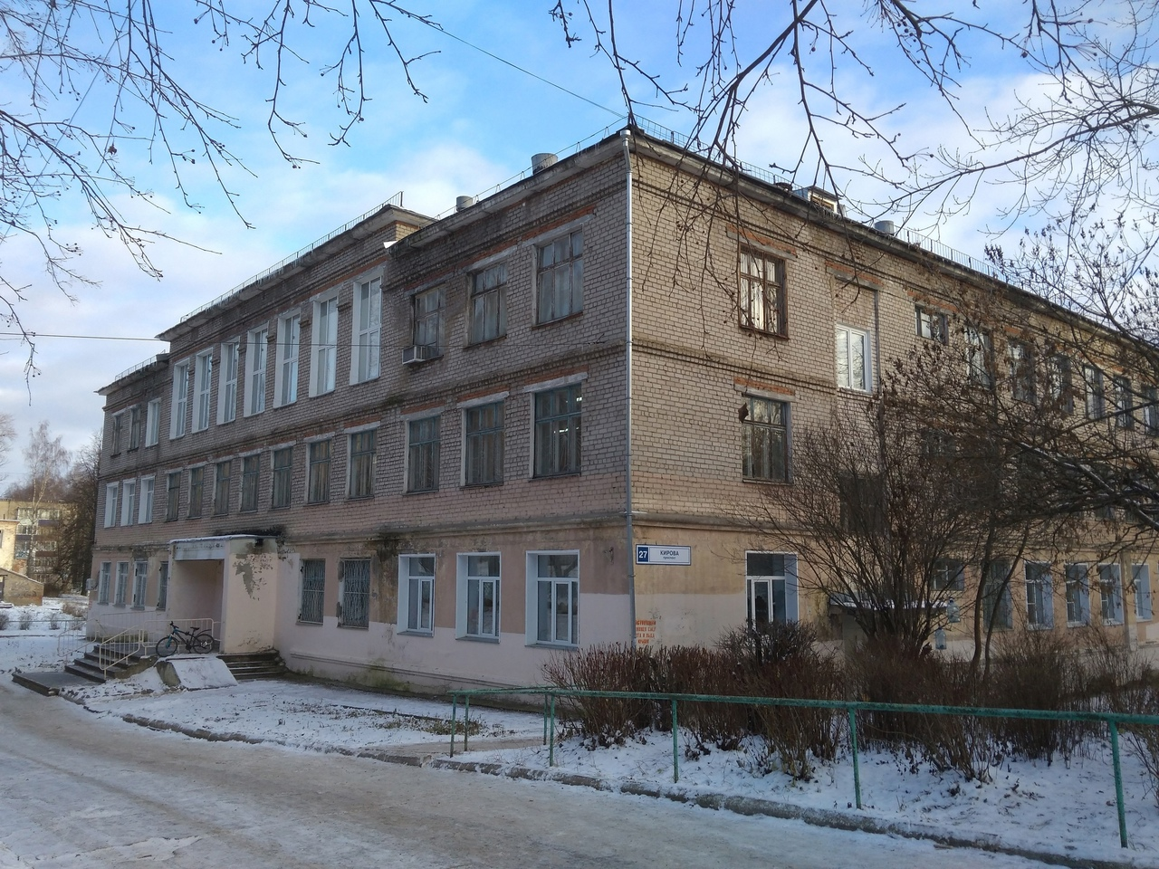 В Кирово-Чепецке ищут нового подрядчика на ремонт школы №7