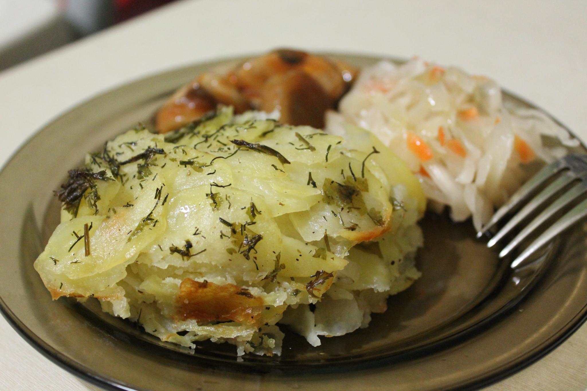 Картофель с прованскими травами: постно не значит невкусно!