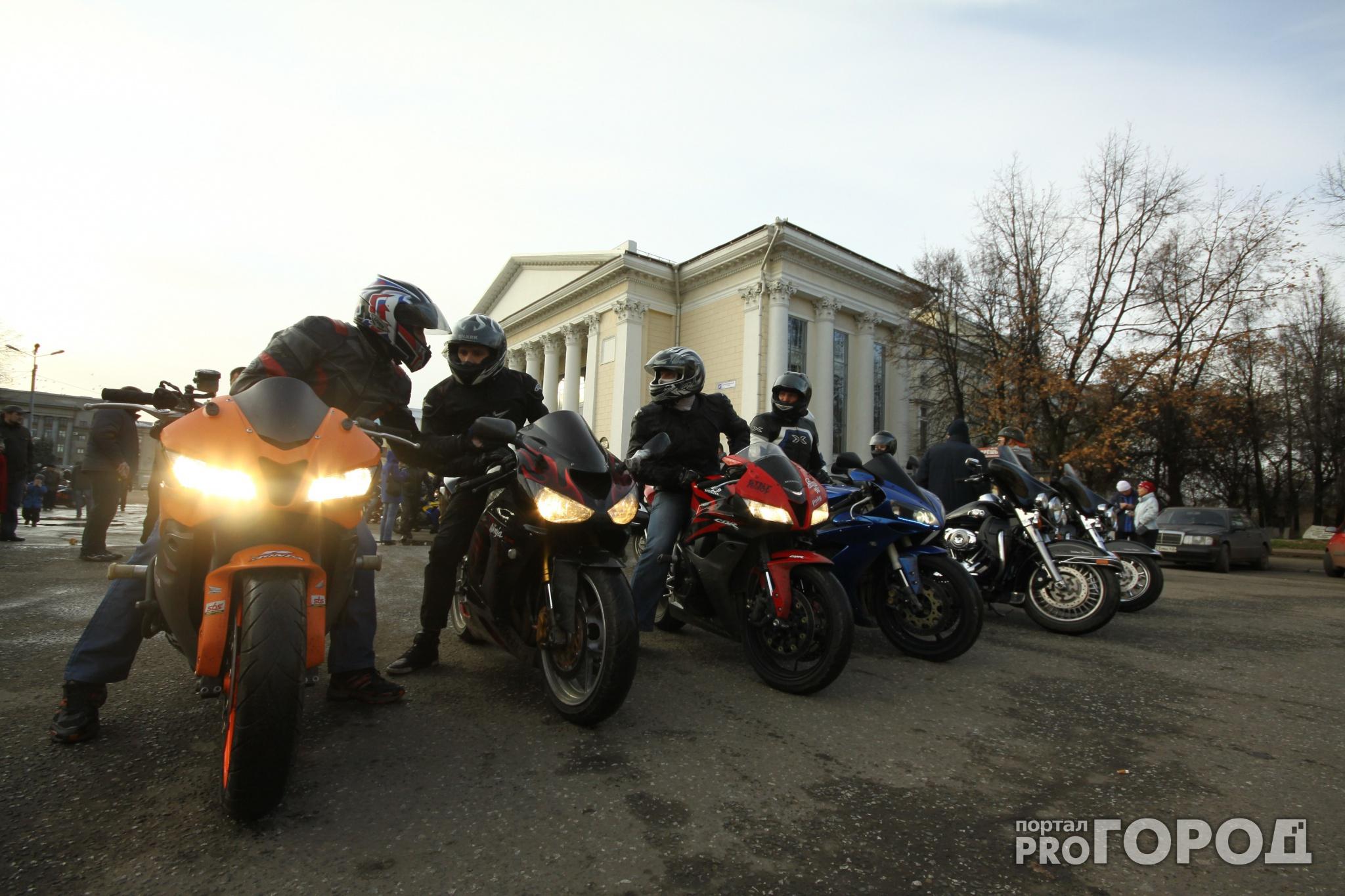 В Кирове на Театральной площади освятят мотоциклы байкеров