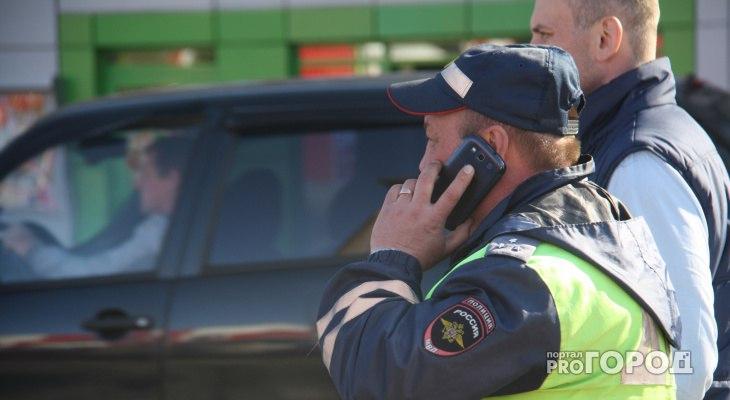 ГИБДД предупреждает водителей и пешеходов в Чепецке о непогоде