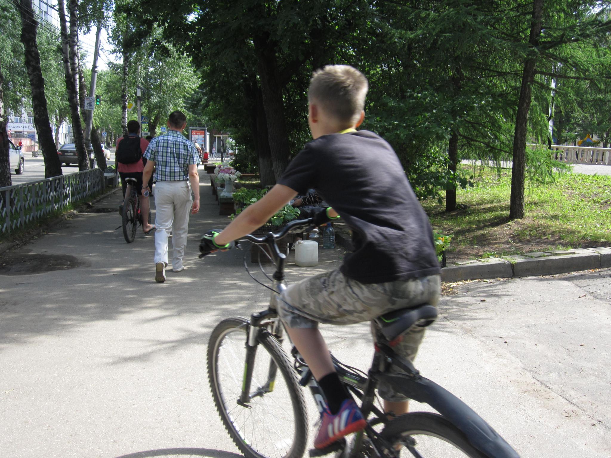 В Кирово-Чепецке женщина за рулем иномарки сбила 13-летнего велосипедиста