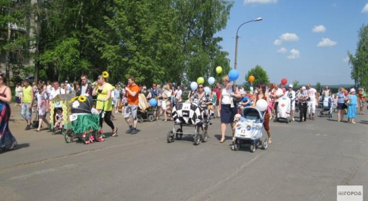 Изменилась дата проведения парада колясок в Кирово-Чепецке