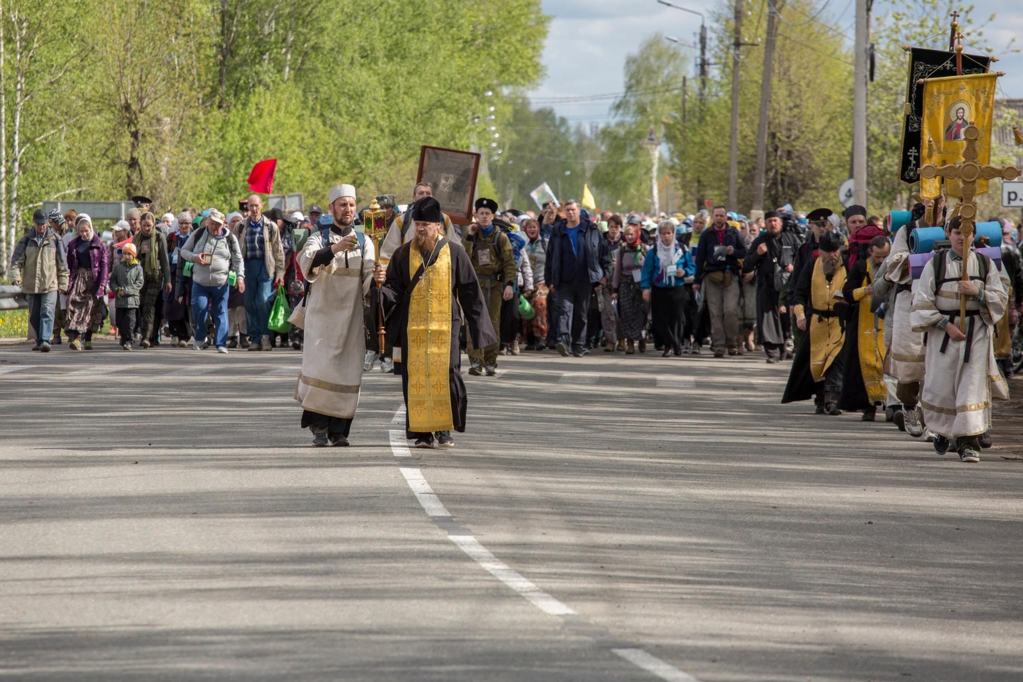 В Великорецком крестном ходе приняли участие около 500 чепчан