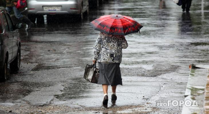 МЧС предупреждает жителей Кирово-Чепецка о сильном дожде